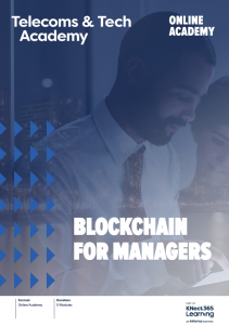 Blockchain for Managers Front Image